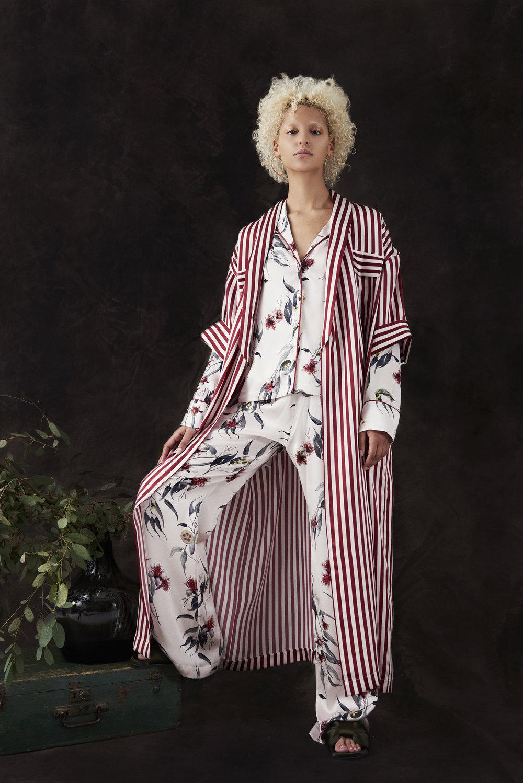 Crimson Stripe Longline Kimono and Trailing Guava PJs.jpg