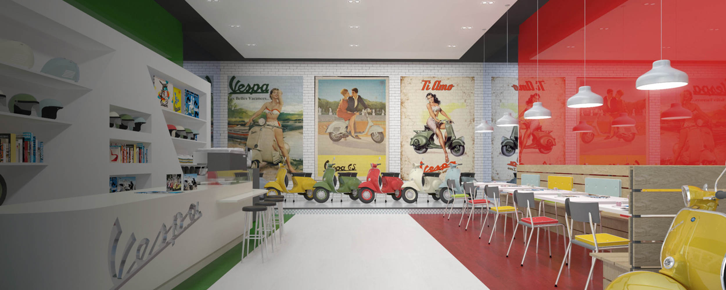 Scooter Showroom, London