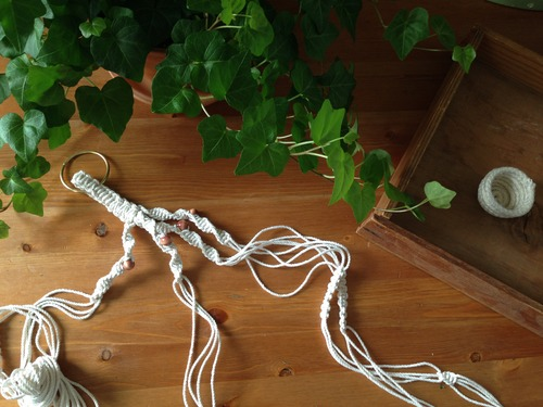 how to make a macrame plant hanger macrame plant hanger ravenous craft 9449