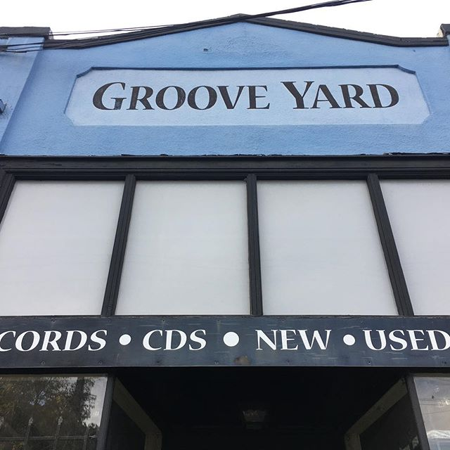 Groove Yard is an Oakland institution. Stop in for your copy of #townmusic!