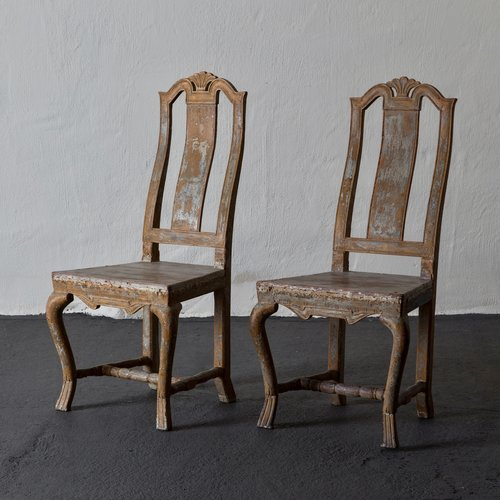Chairs Swedish Baroque 18th Century Sweden L A S E R O W