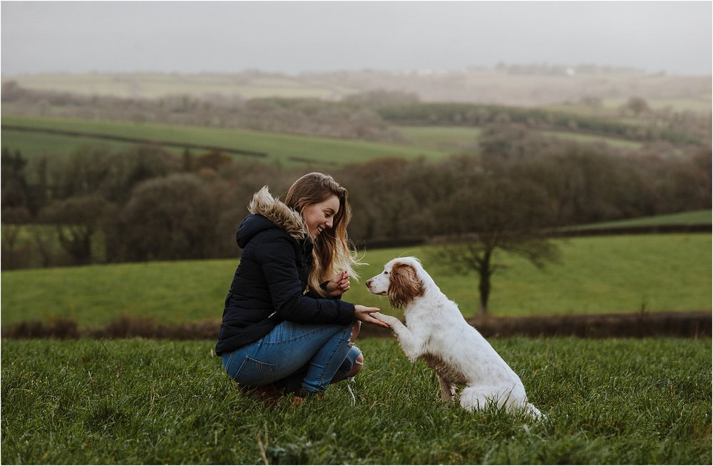 dog photographer in devon