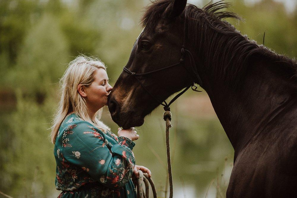 horse photo shoot