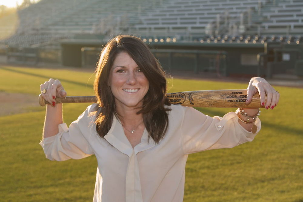 Leslie (Herrmann) Manning  has worked ten years in baseball at the Collegiate, Minor and Major League levels.  She is currently the Director of Professional Development and Assistant Director of Player Development for the Seattle Mariners Major League Baseball Club, where she specializes in coach to athlete connection, personnel education, strategic decision making, and a holistic approach to clubhouse culture.  She leads players, staff, and executives to become the best versions of themselves by providing tools, resources, and metrics to refine their purpose, vision, goals, and habits with intentional focus.  A bilingual Spanish-English speaker, she is responsible for Latino player education and skill acquisition to cultivate strong, dynamic men on and off the field at the Dominican Republic Academy through all Stateside Mariner affiliates.  Prior to joining the Mariners, she founded her company NextStep Baseball, worked for the Labor Relations Department at the MLB Office of the Commissioner in New York, and in Baseball Operations for the Arizona Diamondbacks. She was awarded as the 2011 Minor League Baseball NYPL Executive of the Year. She is an alumnus of College of the Holy Cross in Worcester, MA and currently resides in Scottsdale, AZ.  In 2014, she began authoring her 60-page curriculum and interactive workbooks to help athletes discover their purpose and achieve their dreams on and off the field. In 2015, she self-published her first book,  The Dugout Gentleman , a humorous and handy how-to guide containing 90 life skill tips concerning Women, Hygiene, Technology, Dinner Parties, Attire, First Impressions, Ego, Time and Education.