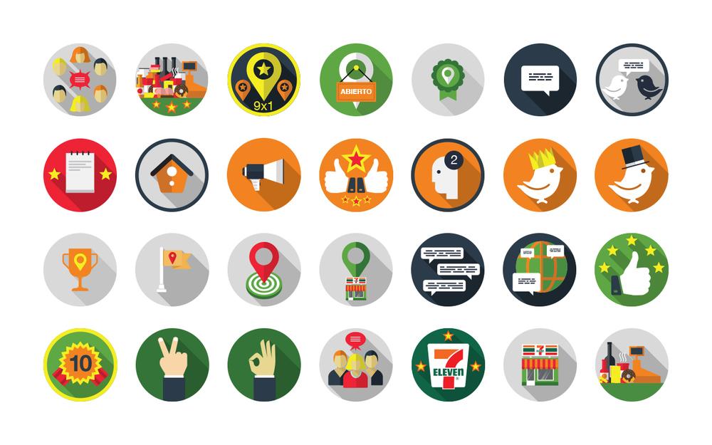 7-Eleven Badges