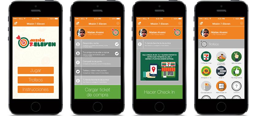 Misión 7-Eleven iPhones