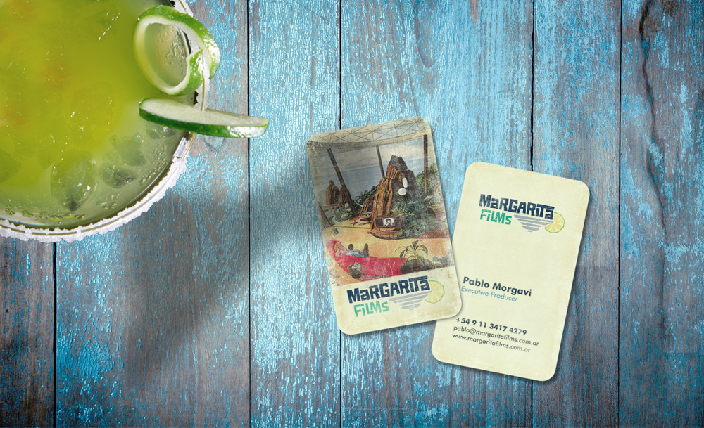 Margarita Films Business Cards