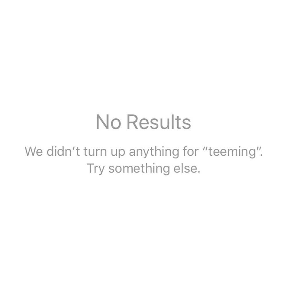 10.13.17: Teeming (No Results)
