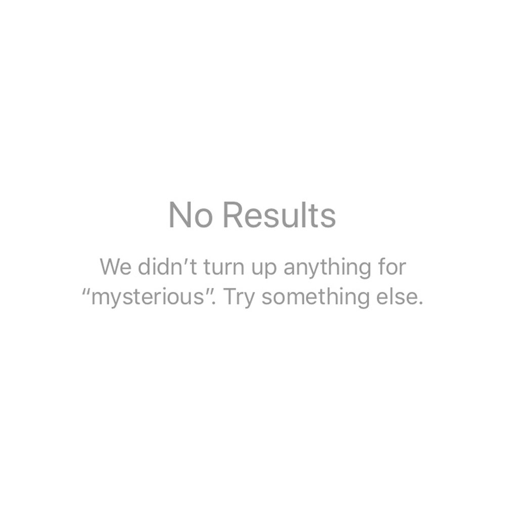 10.15.17: Mysterious (No Results)
