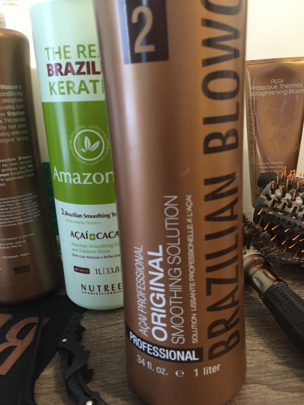 Brazilian Blowout Smoothing System