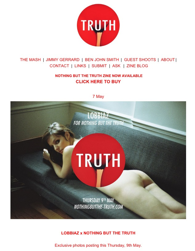 Upcomming exclusive serie for Nothing But The Truth Magazine out thursday.