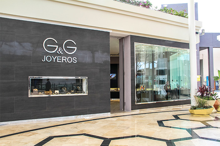 G&G Joyeros storefront in Lima, Peru