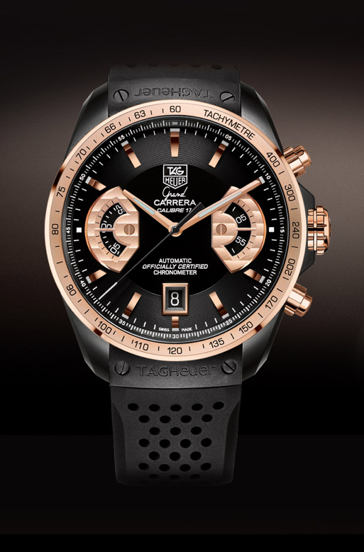 TAG Heuer GRAND CARRERA, Calibre 17 RS2 Automatic Chronograph 43 mm