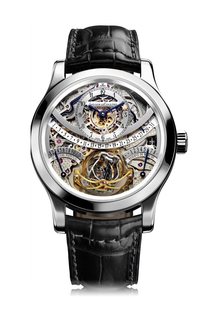 The Hybris Mechanica 55 collection trilogy includes a Gyrotourbillon, above, a Triptyque and a Grande Sonnerie and is available for 1.8 million euros.