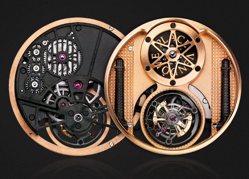 Edgy Watchmakers' Material Links Time and Space