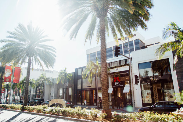 The IWC boutique on Rodeo Drive. Credit Kendrick Brinson for The New York Times