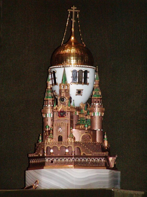 Russian jewelers revive the spirit of Fabergé