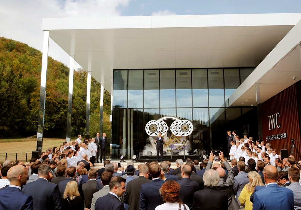 New Factory Signals Growth for IWC Schaffhausen