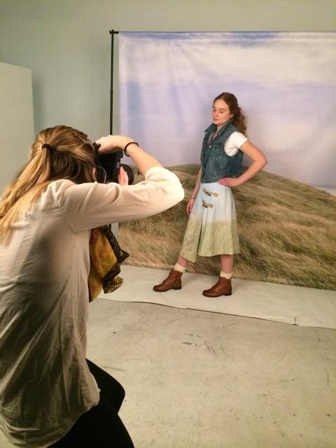 an alternate look for the skirt