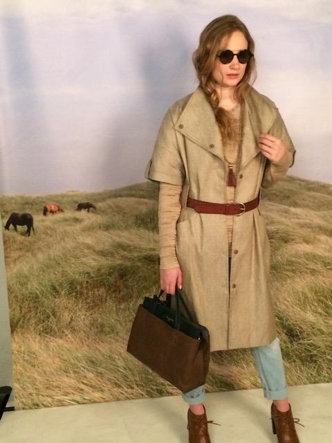 look 3: the coat