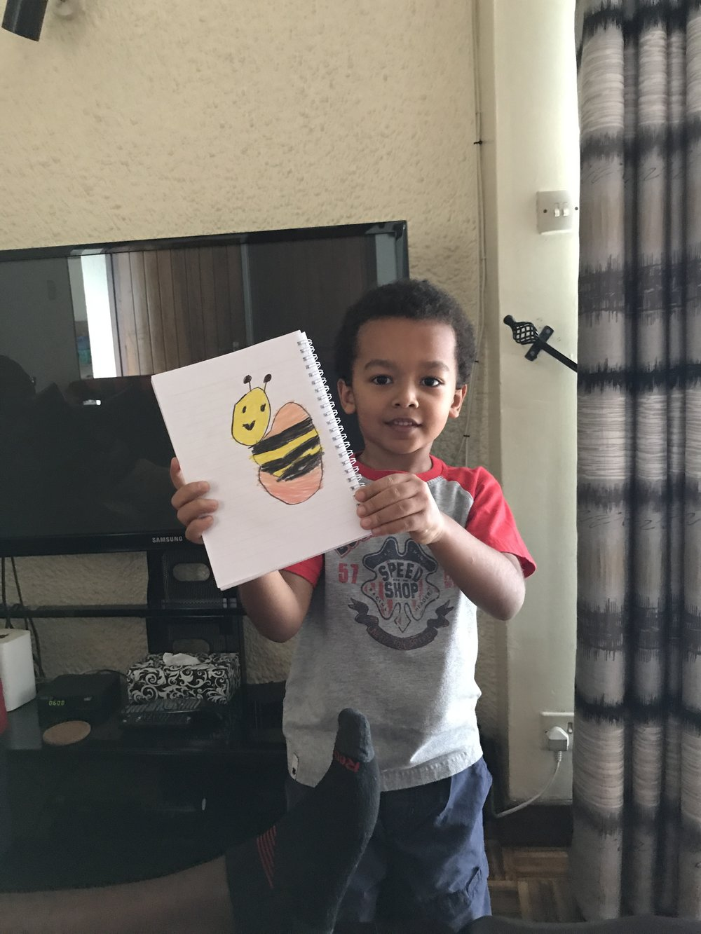 Micah's bumblebee