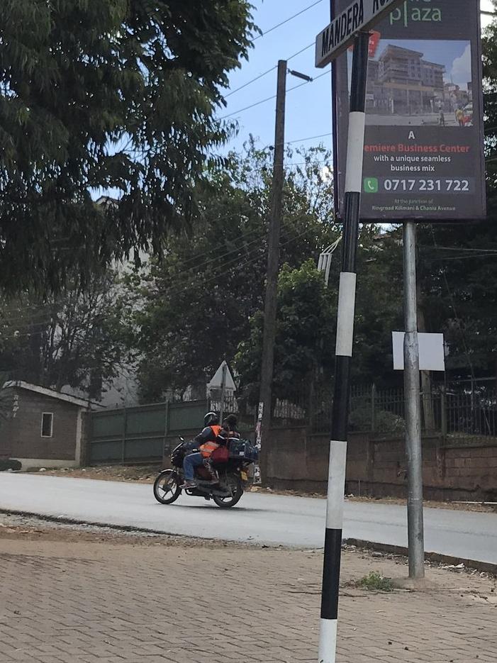 Boda-boda (motorcycle taxi)