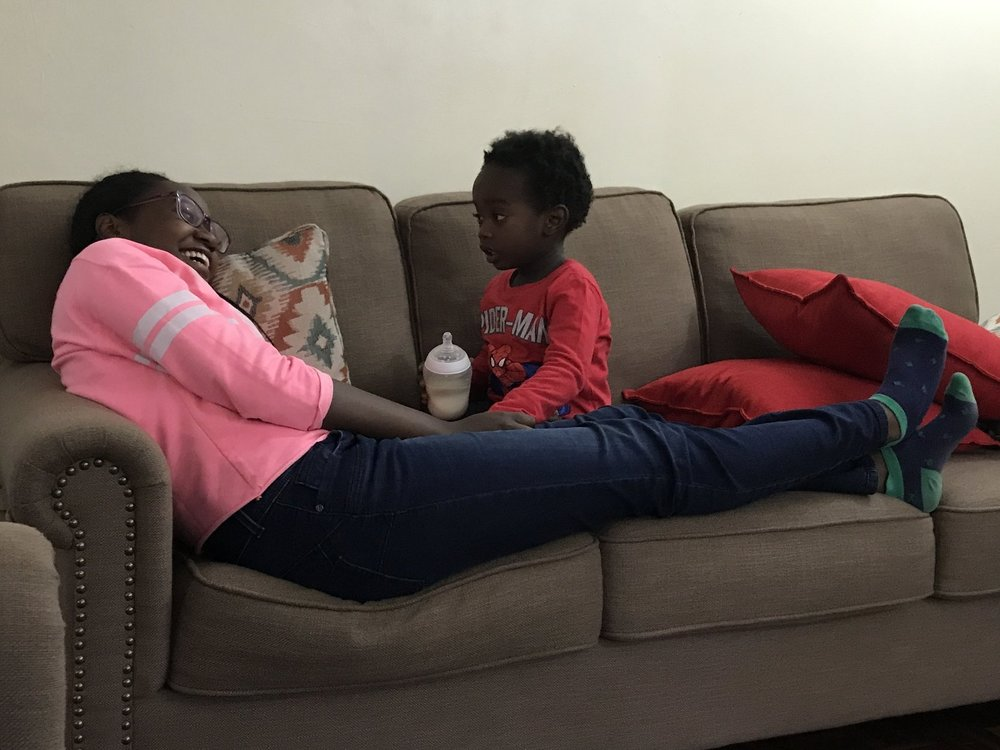 Noni & Lemayian: special buddies