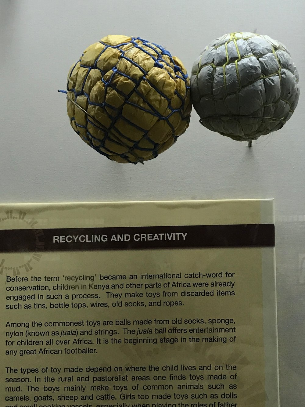 10) Homemade soccer balls