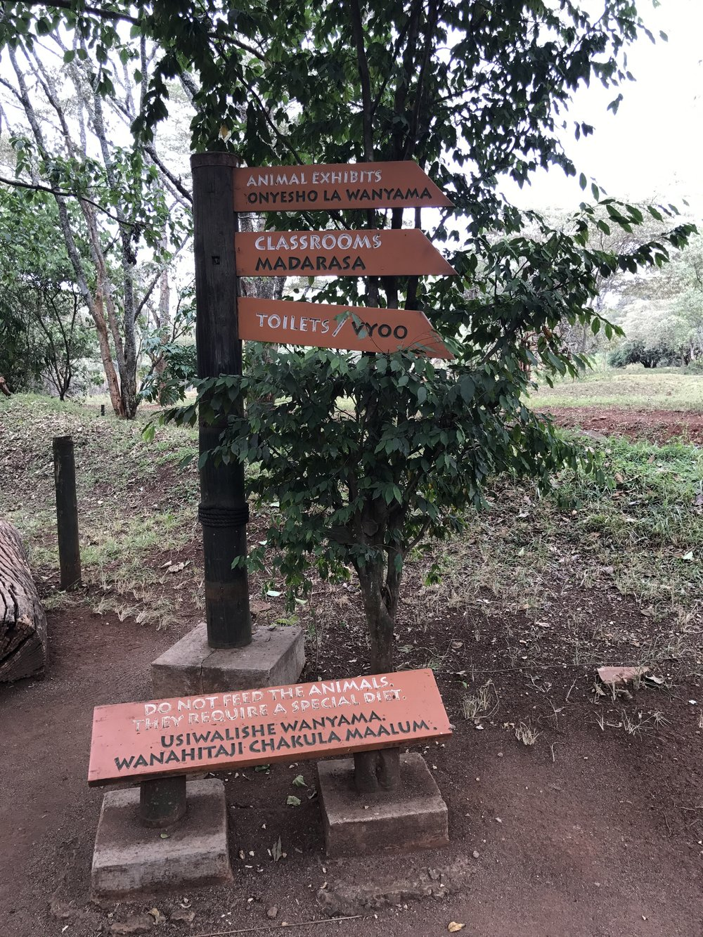 More Swahili/English signs