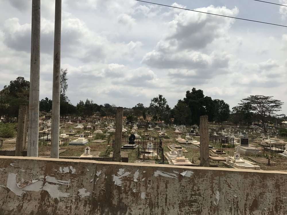 Cemetery where Irene is buried