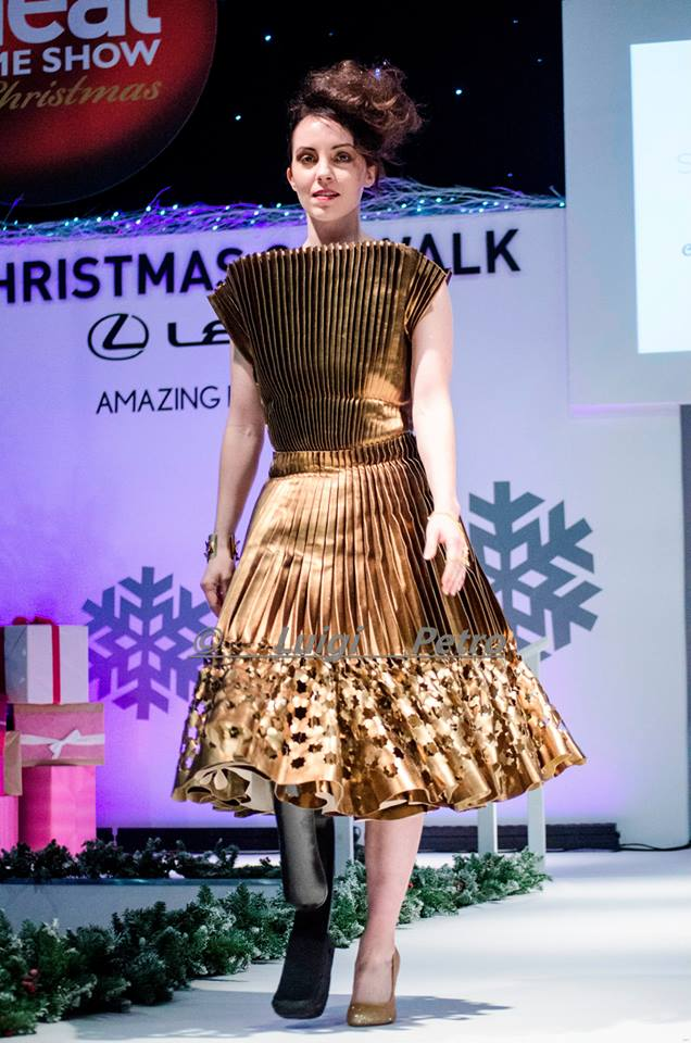 Working it on the catwalk!