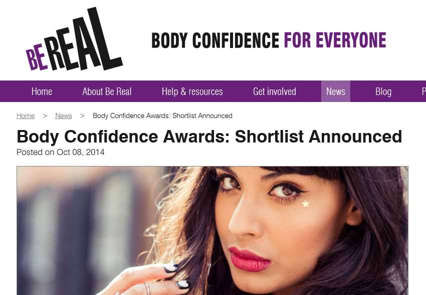 Be Real Body Confidence Awards Article.png
