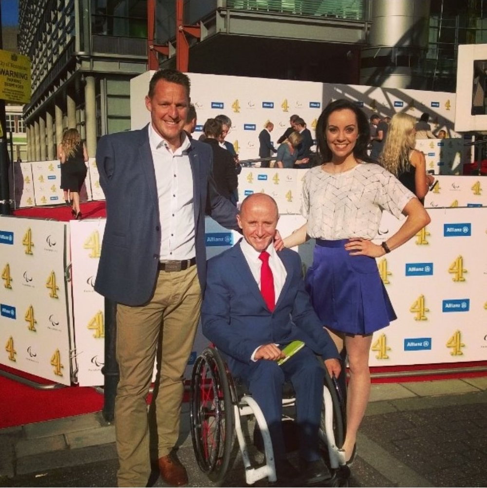 Channel 4 Launch - Stef Reid is posing on the red carpet at the C4 launch of the Rio 2016 Paralympic Coverage.Stef will be competing in the Women's T44 long jump final and just 24 hours later, she will join the C4 Athletics broadcast team alongside fellow pundit Danny Crates.Stef is thrilled at the opportunity to share her passion and knowledge of para-athletics with the rest of the world.  She firmly believes that para sport can be enjoyed by everyone, not just people with disabilities, but you first have to understand it!
