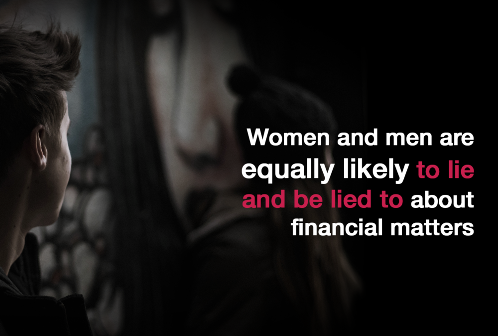 Financial Infidelity - Women and Men equally lied.png