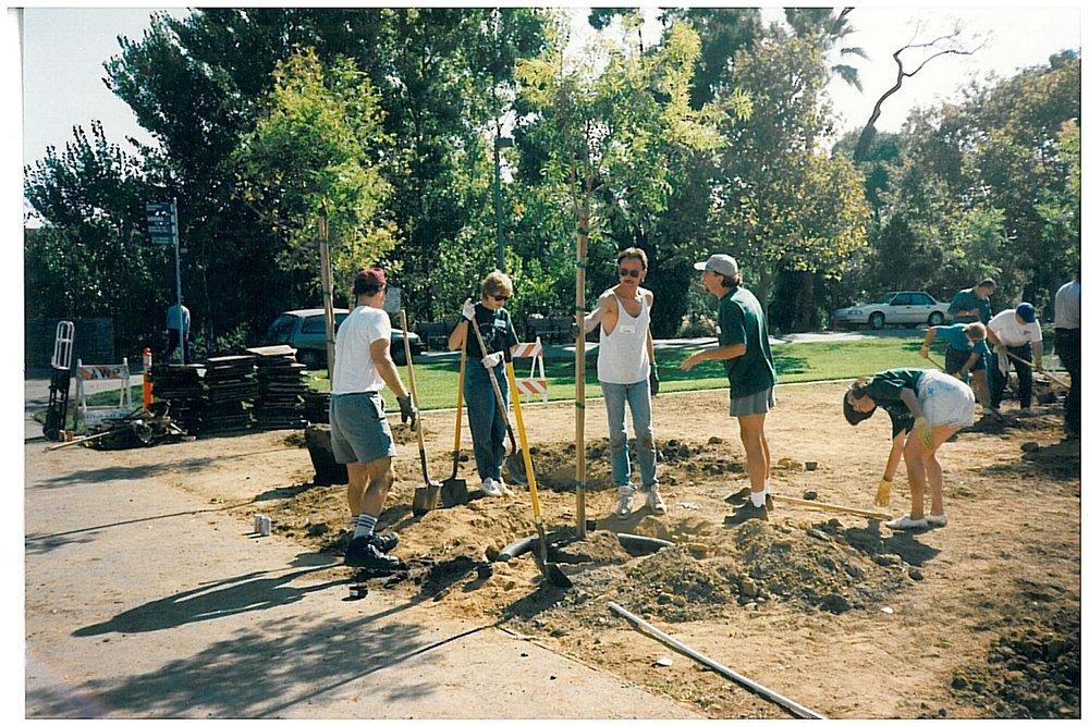 AIDS Memorial Grove Planting - 1995