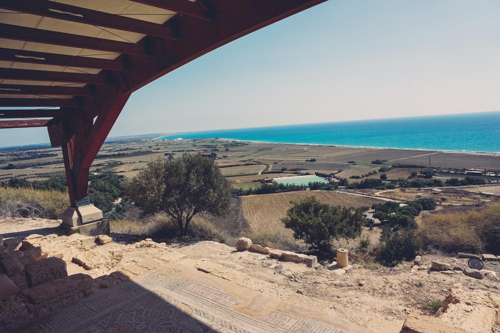Cyprus Kourion Theatre Beach