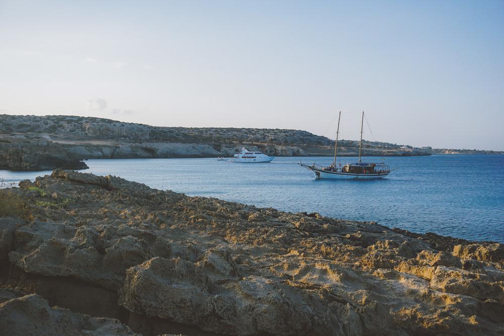 Cyprus Kourion Beach Ocean