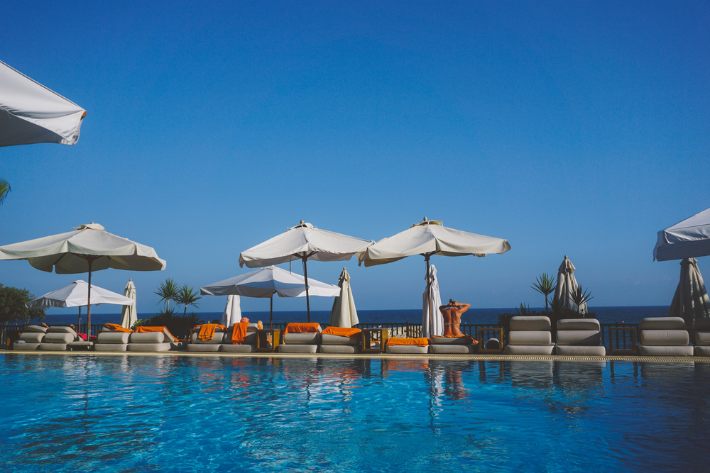 Cyprus Limassol Londa Spa Hotel. Pool and Beach.