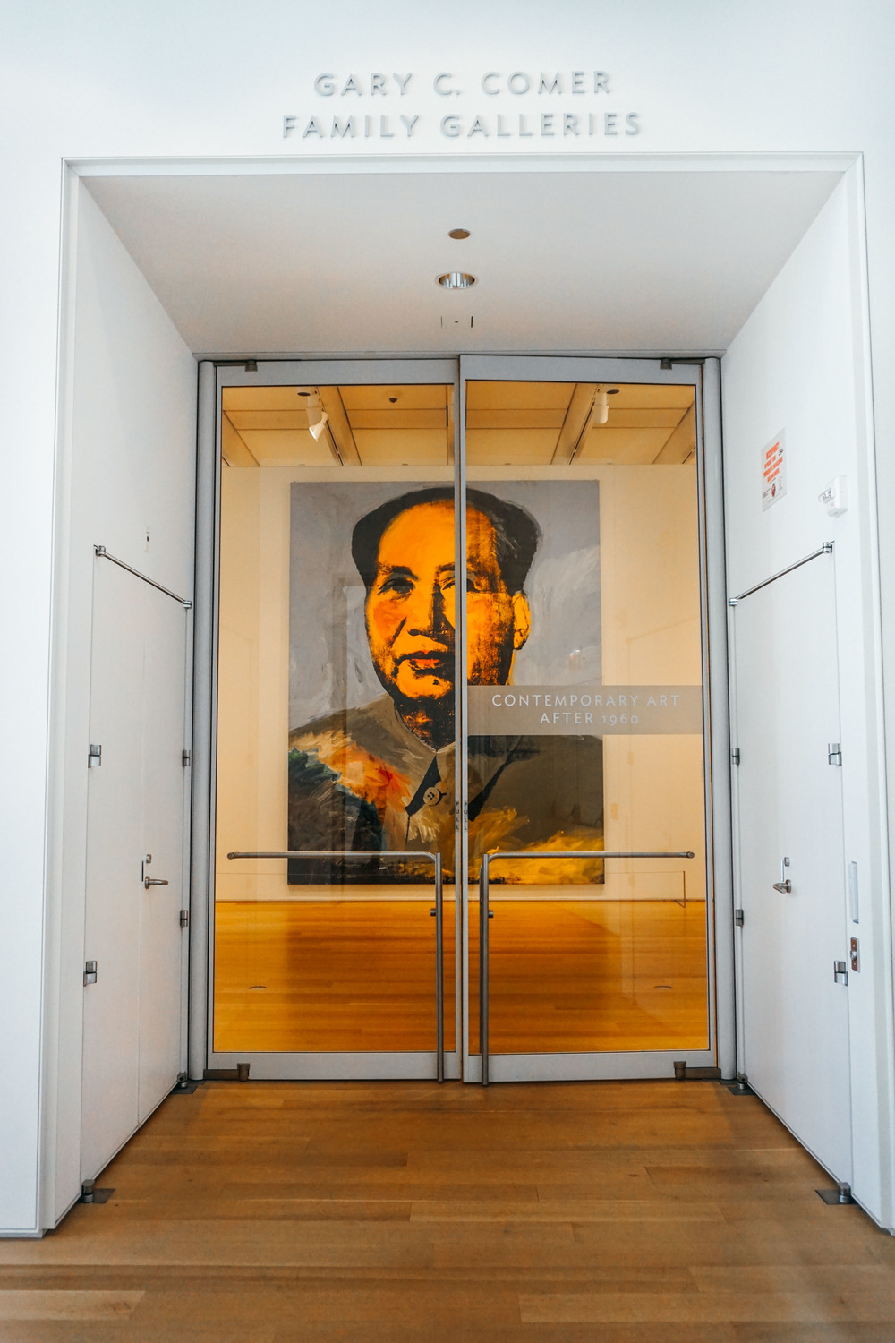 Art Institute of Chicago, Millennium Park. United States of America. Mao