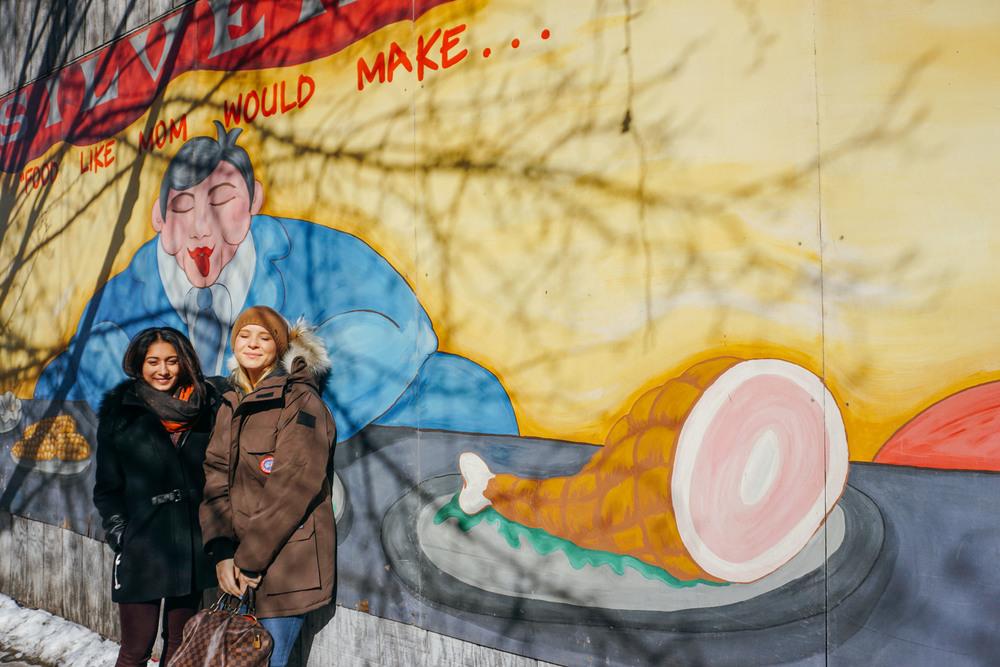 Wabansia, Damen. Street Art.