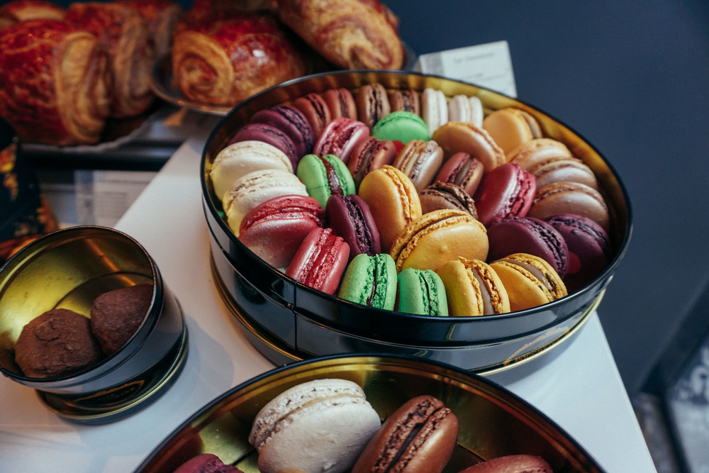 Macaroons in Le Marais, Paris