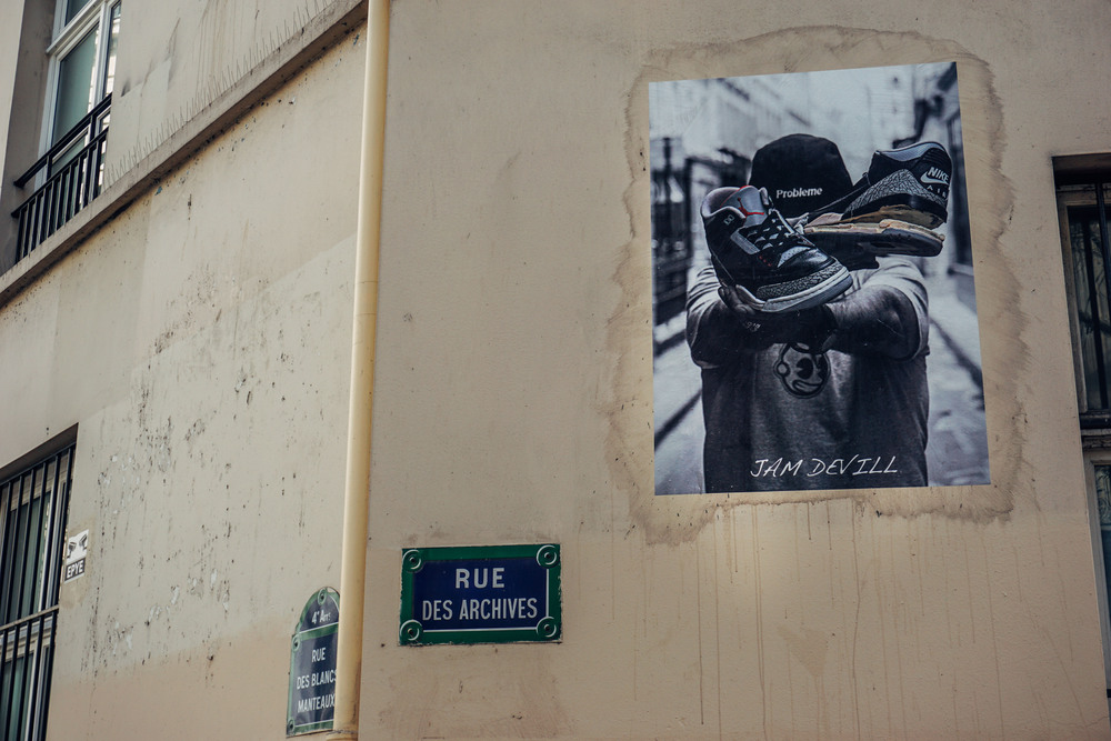 Street Art in Le Marais, Paris