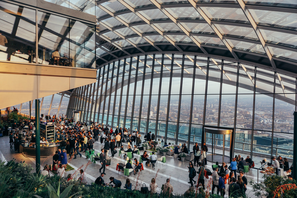 Sky Gardens at 20 Fenchurch Street.