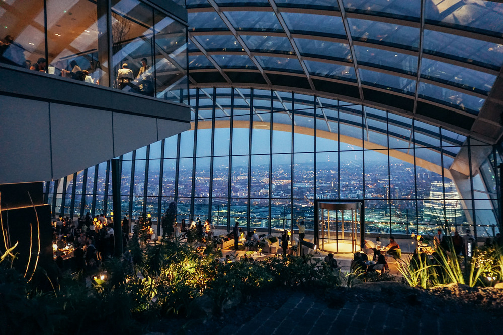 Sky Gardens at 20 Fenchurch Street