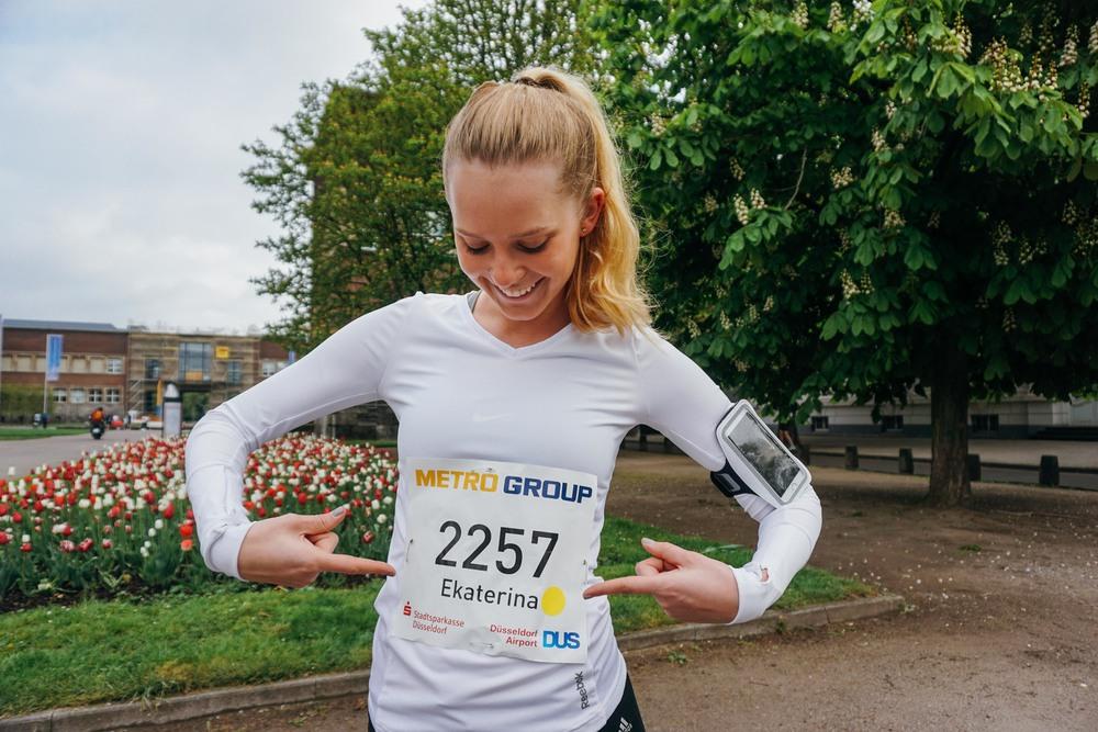 Marathon Düsseldorf.