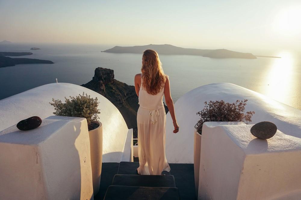 Santorini, Imerovigli.