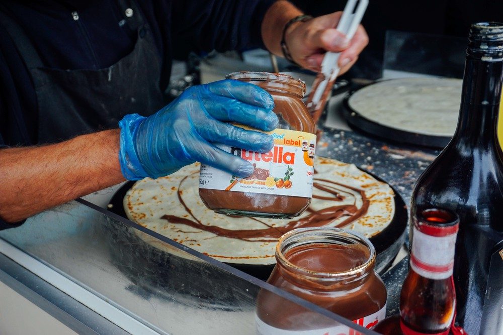 Kings Road, Chelsea, Nutella Crepes