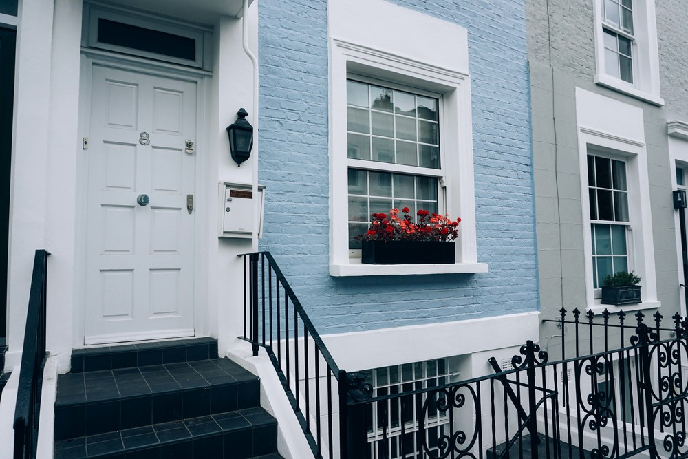 Notting Hill. Blue House.