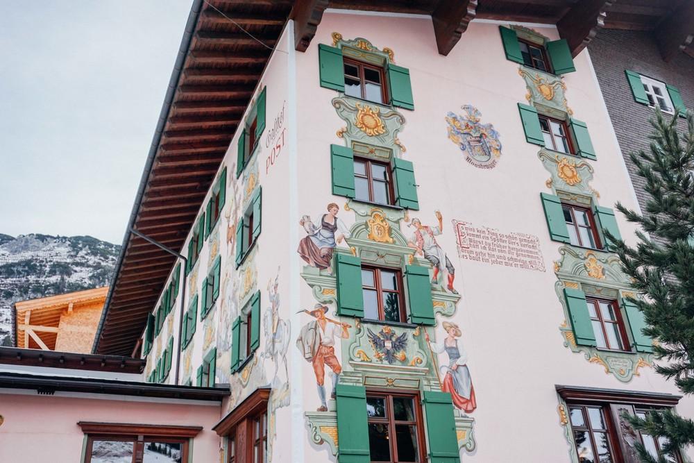 Lech, Austria Architecture