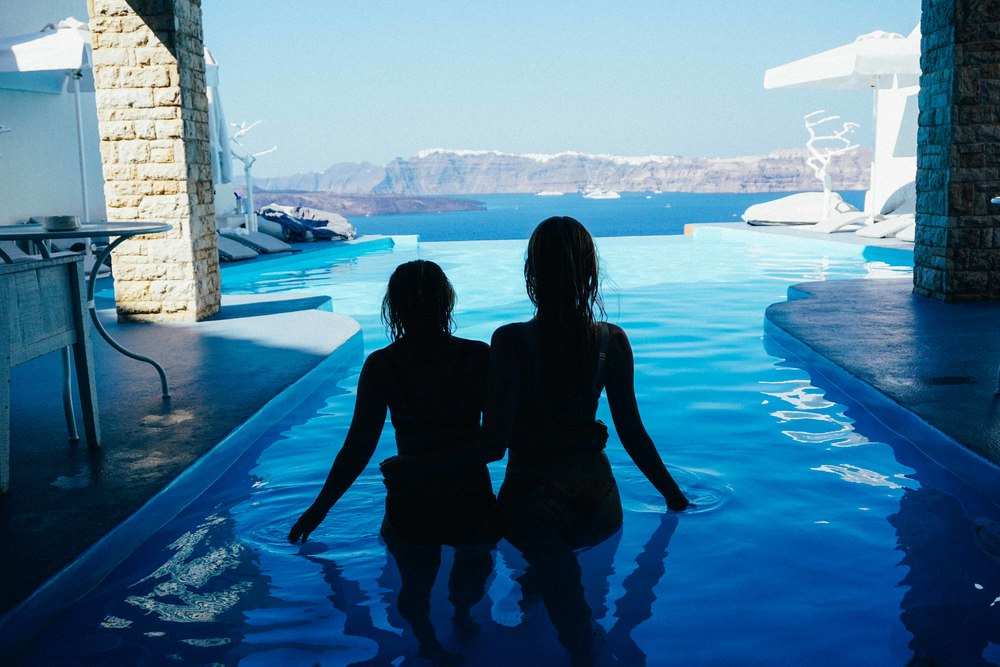 Girls In Santorini on KatCaprice.com
